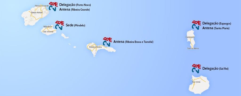 mapa becv